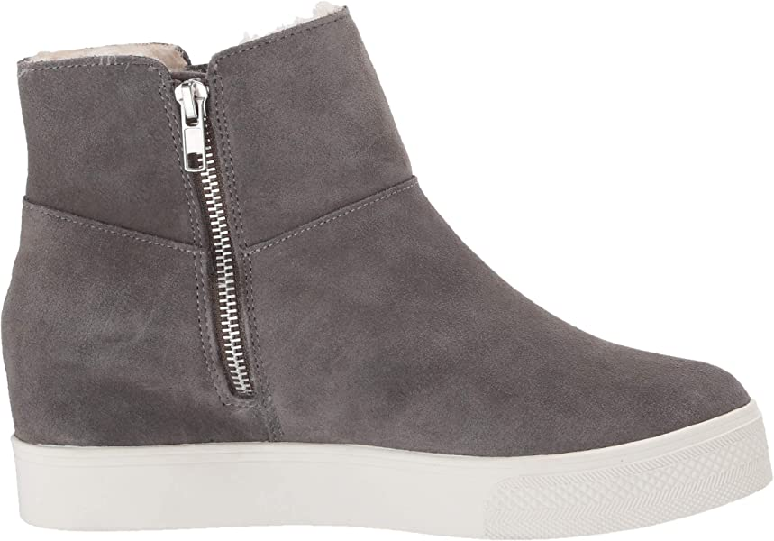 9e756b7df30e Steve Madden Women s Wanda Grey Suede Cold Weather 5 US. Back. Double-tap  to zoom