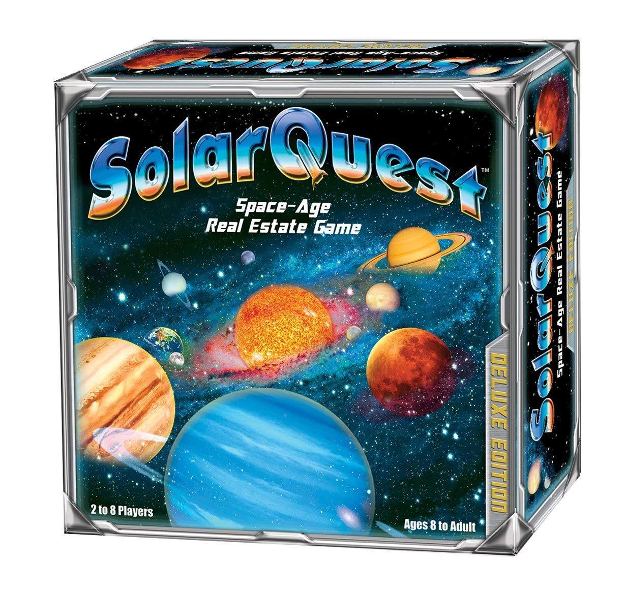 スペシャルオファ SolarQuest The Estate Space-Age Real Estate Game: Deluxe Edition Edition The B075SKKM2K, 和の装い:538d96c1 --- ciadaterra.com