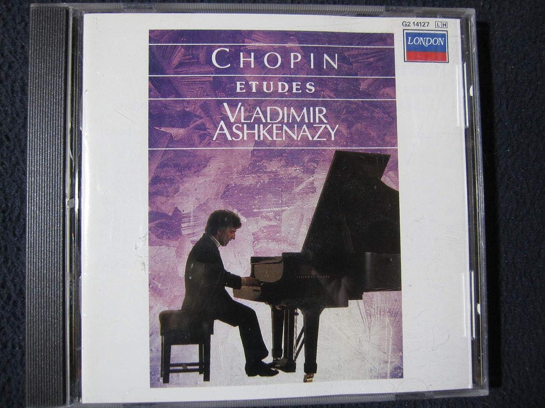 Chopin Etudes - New York Mall Ashkenazy Large discharge sale Vladimir