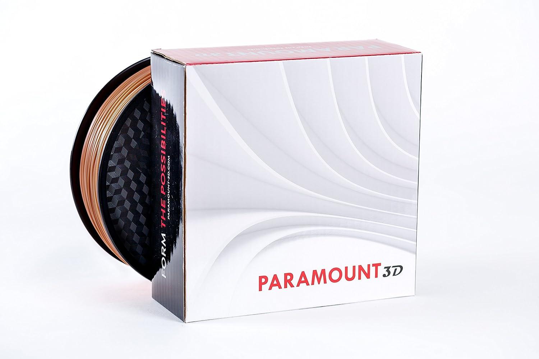 Paramount 3d pla (Pantone Terra Cotta 7591 C) filamento de 1,75 mm ...