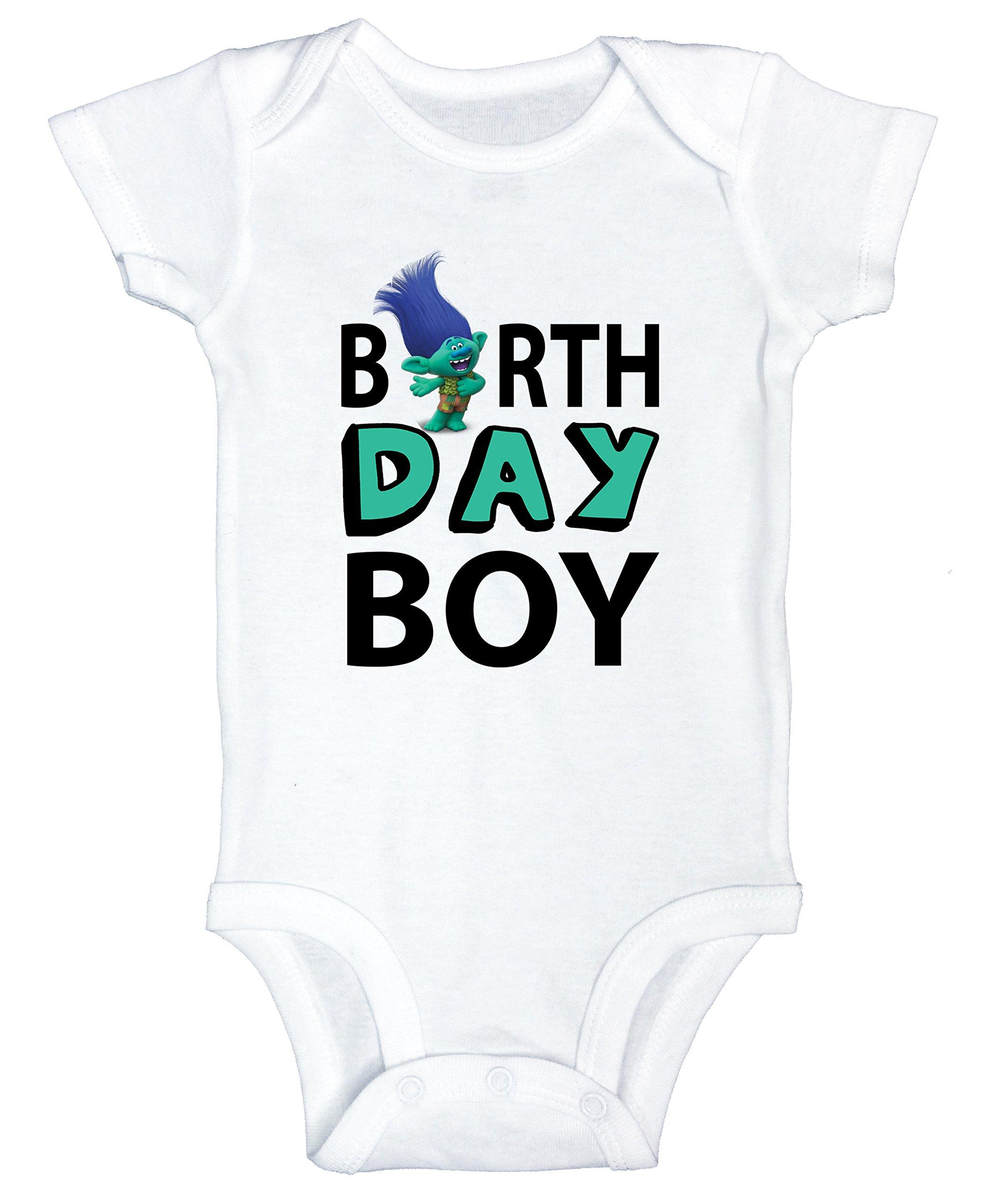 Funny Threadz Kids Boys Birthday Onesie Boy Bodysuit