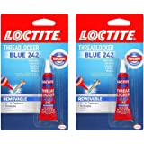 Loctite Heavy Duty Threadlocker, 0.2 oz, Blue 242, Single (.2-Pack (0.2 Fl. Oz), Blue)