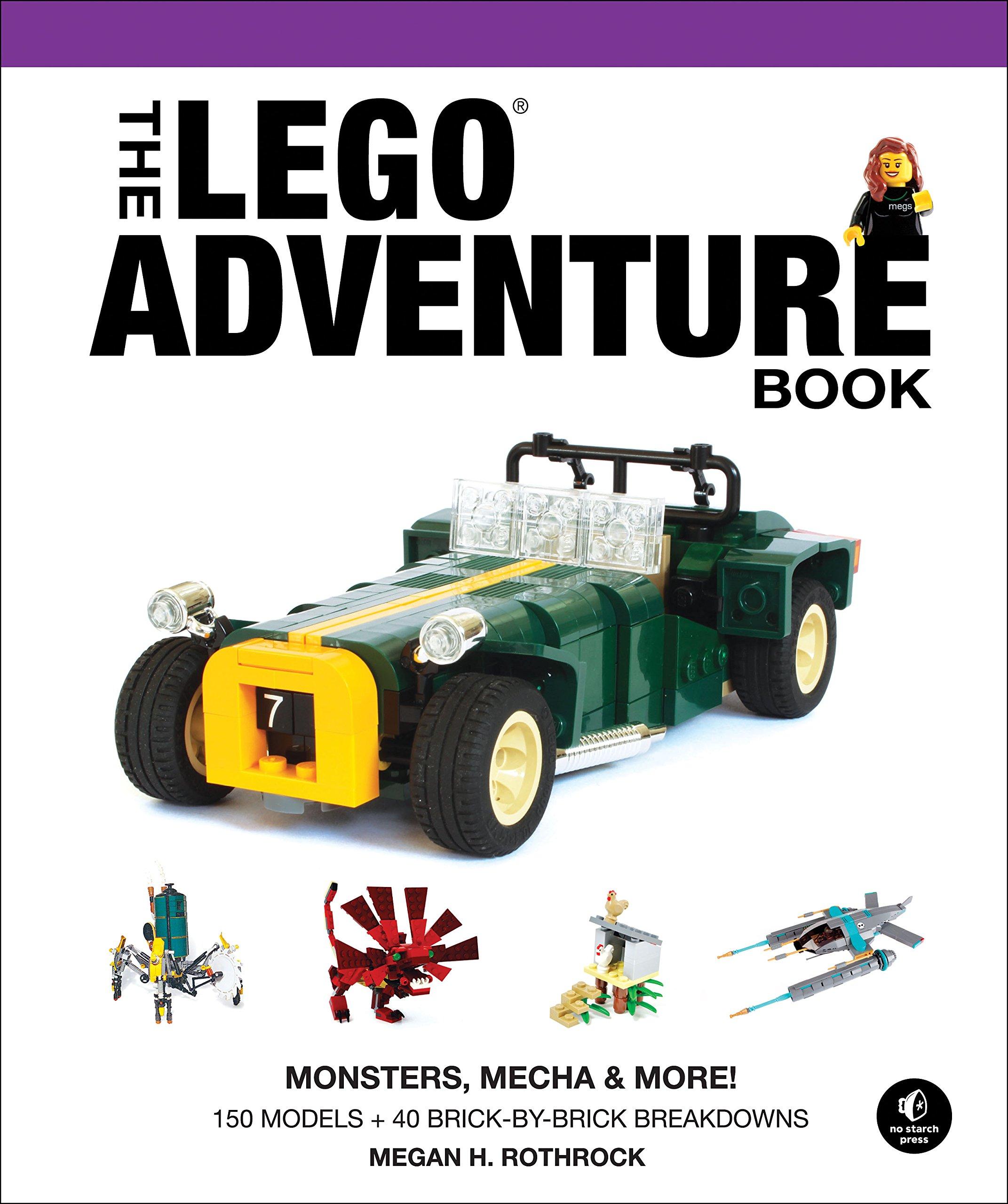 The lego adventure book vol 4 monsters mecha more megan h rothrock 9781593277635 amazon com books