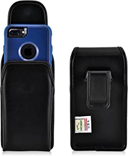 product image for Turtleback Holster Made for Apple iPhone 6S with OB Commuter Black Vertical Belt Case Leather Pouch with Executive Belt Clip Made in USA