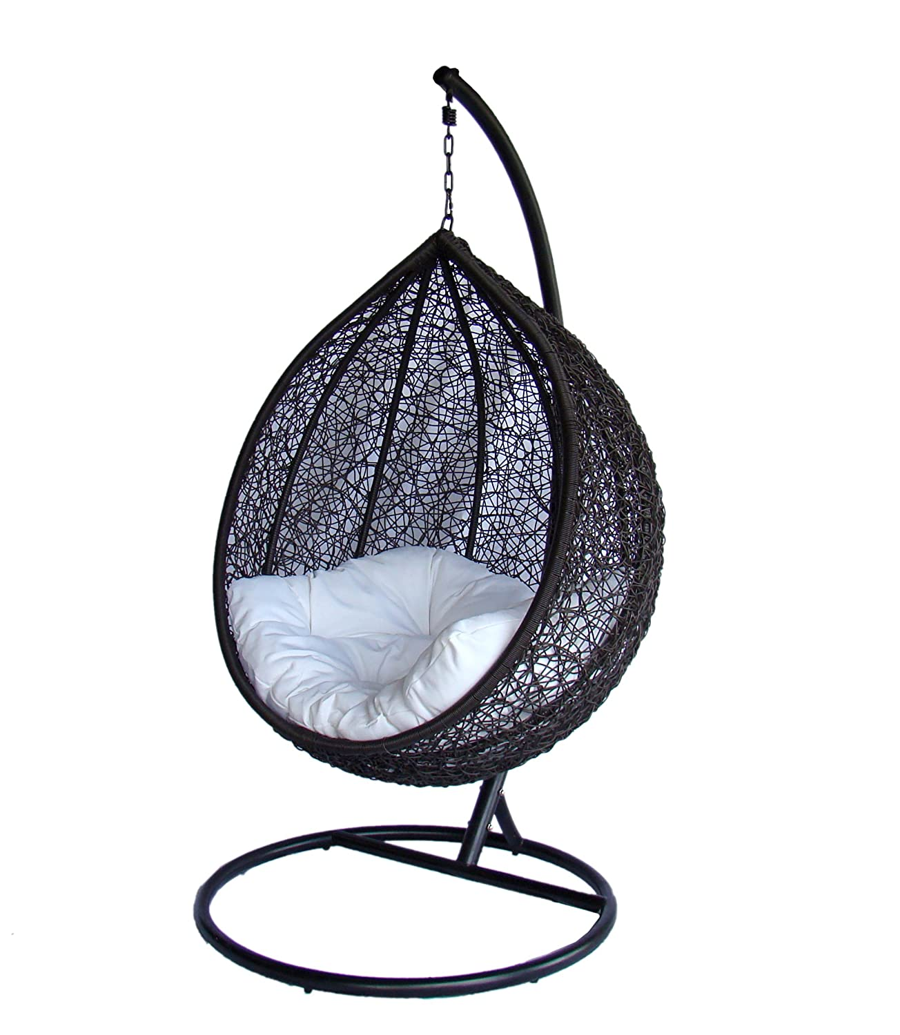 Amazon.com : Ceri   Outdoor Swing Chair/Great Hammocks Model   DL003 BK :  Garden U0026 Outdoor