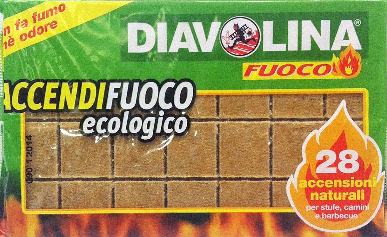 Diavolina accendi griglia - 500 gr [28 accensioni naturali] DVL00006