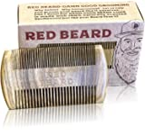 Beard Brush and Comb Set for Men Grooming from