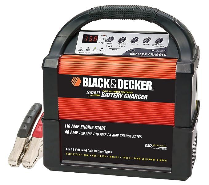 Negro + Decker vec1093dbd Smart Recargable 40/20/10/4 AMP ...