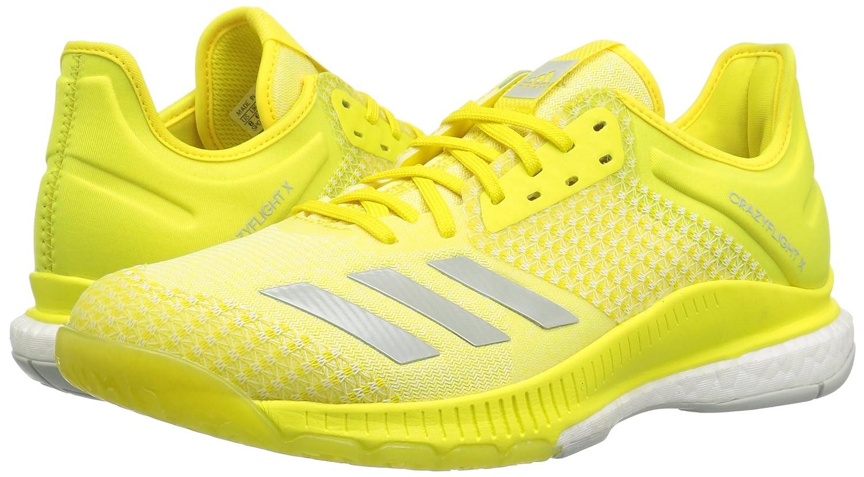 adidas Women's Crazyflight X 4.5 2 Volleyball Shoe B077X57NT3 4.5 X B(M) US|Shock Yellow/Ash Silver/White fea0ce