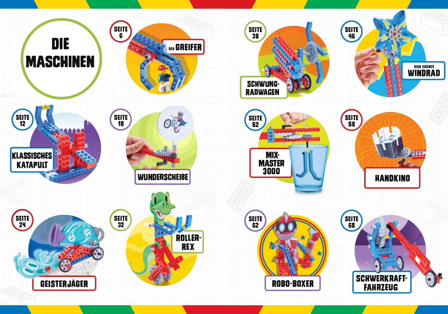 LEGO® Geniale Maschinen Mit 20 Modellen Enthält alle LEGO ...