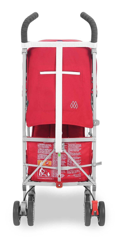 Asiento multiposici/ón Maclaren Globetrotter Silla de paseo Capota extensible con UPF 50+ ligera de los 6 meses hasta los 25 kg suspensi/ón en las 4 ruedas