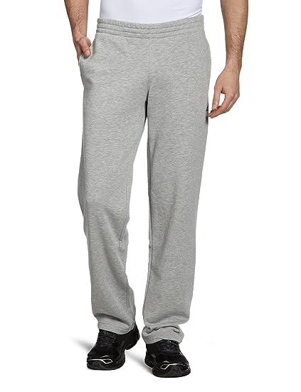 2cf79fe51ecda8 adidas Herren Lange Trainingshose Essentials Sweat Pants Open Hem grau