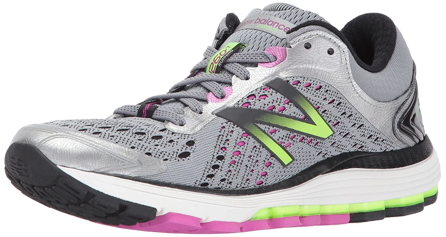 New Balance Women's 1260v7 Running Shoe B01NCAEV9M 9.5 2A US|Dark Grey/Purple