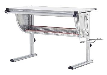 Robas Lund 40051GS2 Schreibtisch, Für Kinder, Höhenverstellbar, 60 X 118 X  93 Cm