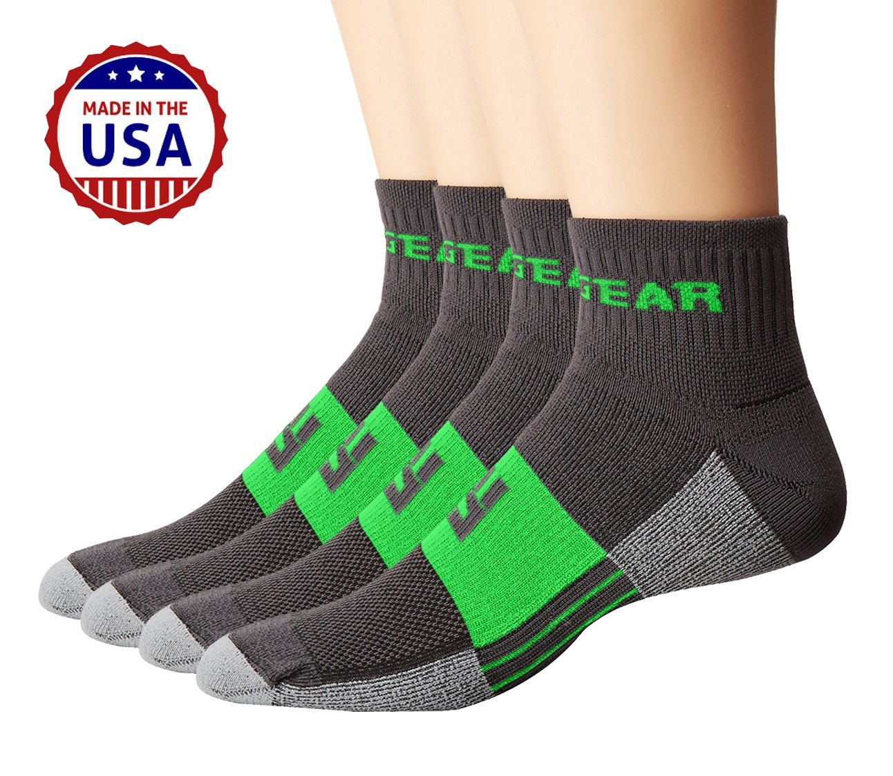 socks most comfortable dot dp com for comforter advanced running quarter wicking and sport moisture padding athletic amazon sports cycling