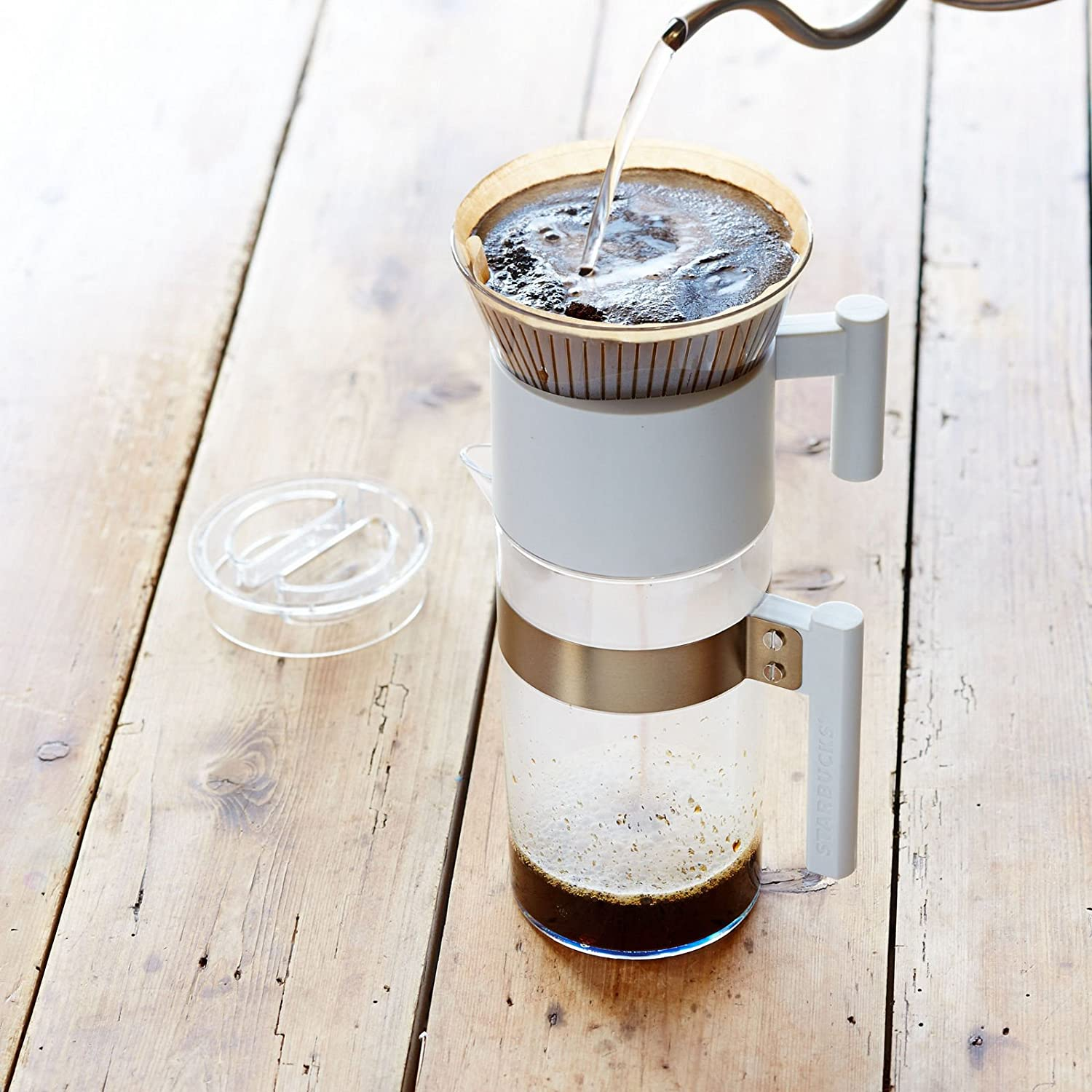 Starbucks cono y jarra pour over set, 40 FL OZ: Amazon.es: Hogar