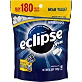Eclipse Winterfrost Sugarfree Gum, 180 Piece Bag