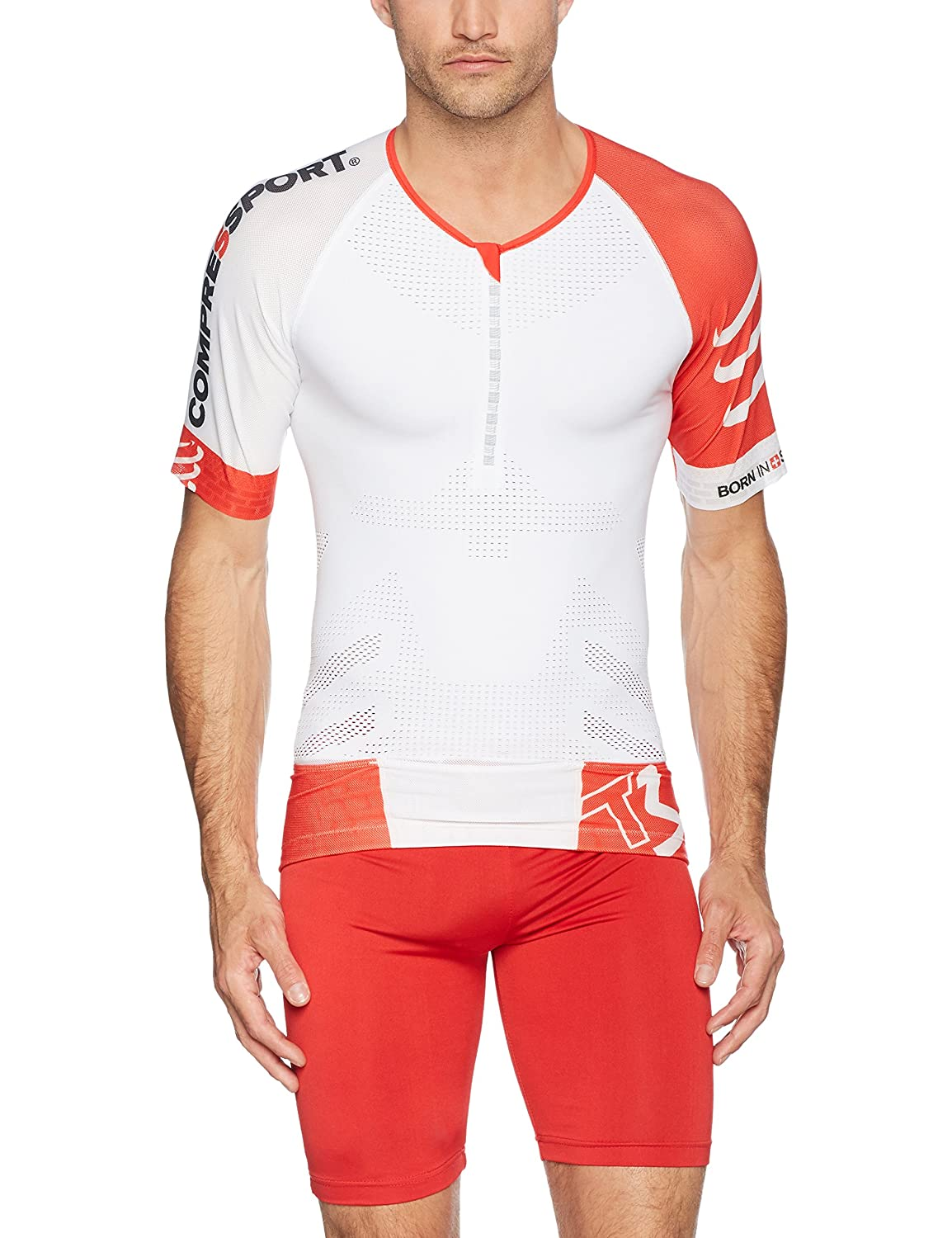 Compressport Tr3 Aero Top Maglia Compressiva da Gara Triathlon Compressport Italia 02400510
