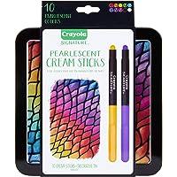 Crayola 52-9507  Signature 10Count Pearlescent Cream Sticks, Vary (Pack of 11)