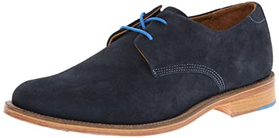 fadd8eea55bd J Shoes Grail Men's Navy Suede Derby Shoes E7103 12 UK | 47 EU ...