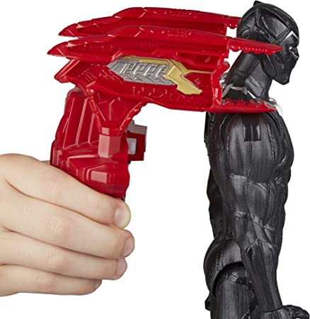 Black Panther- Figura Titan Hero, Multicolor, 30 cm (Hasbro E1363EU4)