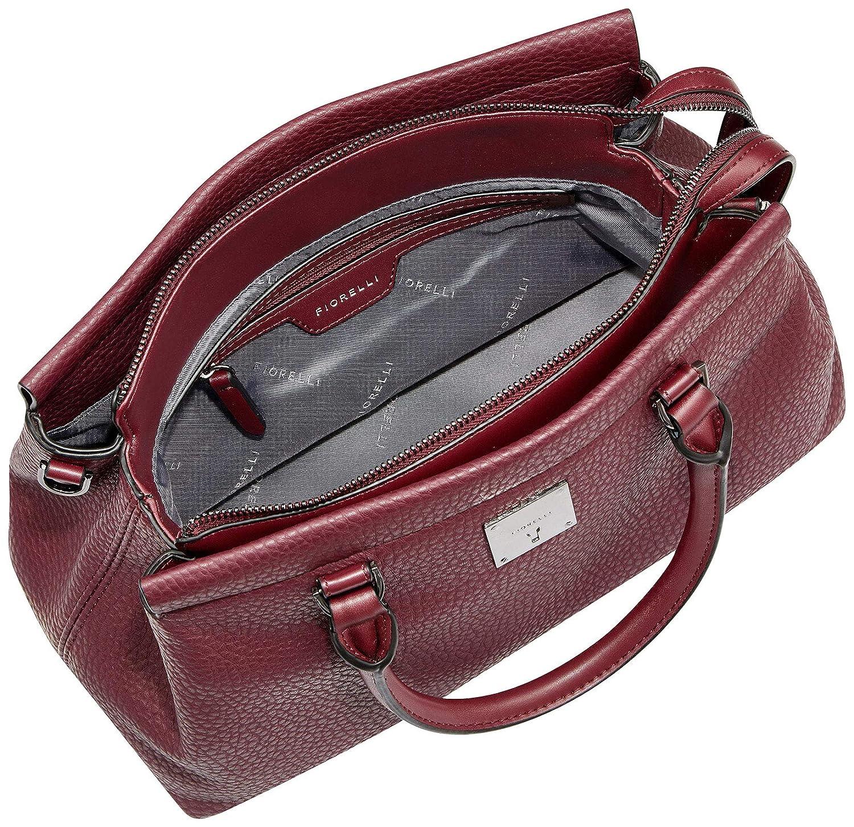 09965ec3a6f815 Fiorelli Colette Triple Compartment Tote (Berry)  Amazon.co.uk  Shoes   Bags