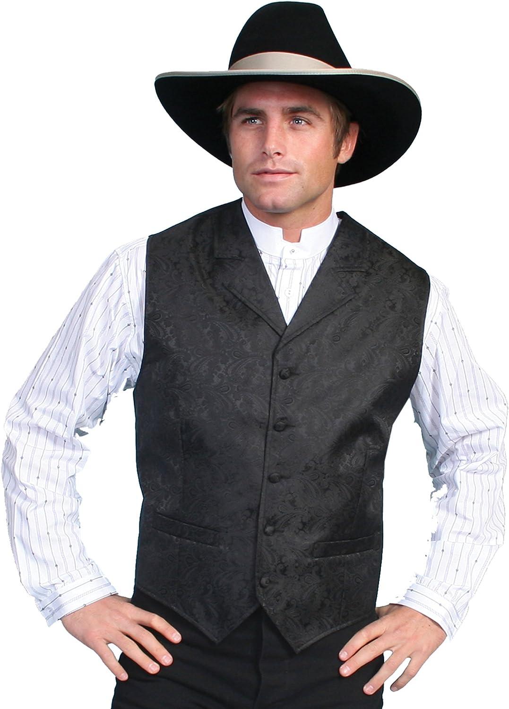 Scully Rangewear Men's Rangewear Paisley Print Vest Big and Tall - Rw093x-Teal