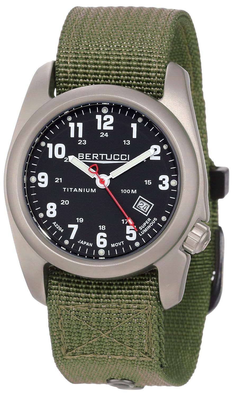 Bertucci Men s 12122 A-2T Original Classics Durable Titanium Field Watch