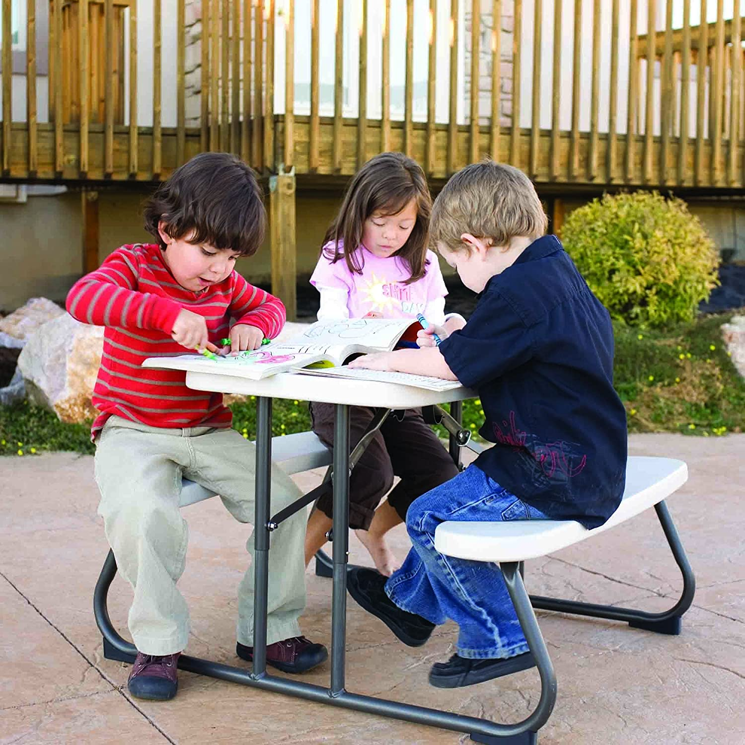 Amazon Lifetime Kid s Picnic Table Lifetime Children