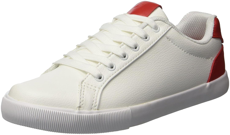 Nautica Women's Steam Pop Sneaker B077125JMM 8.5 B(M) US|Red