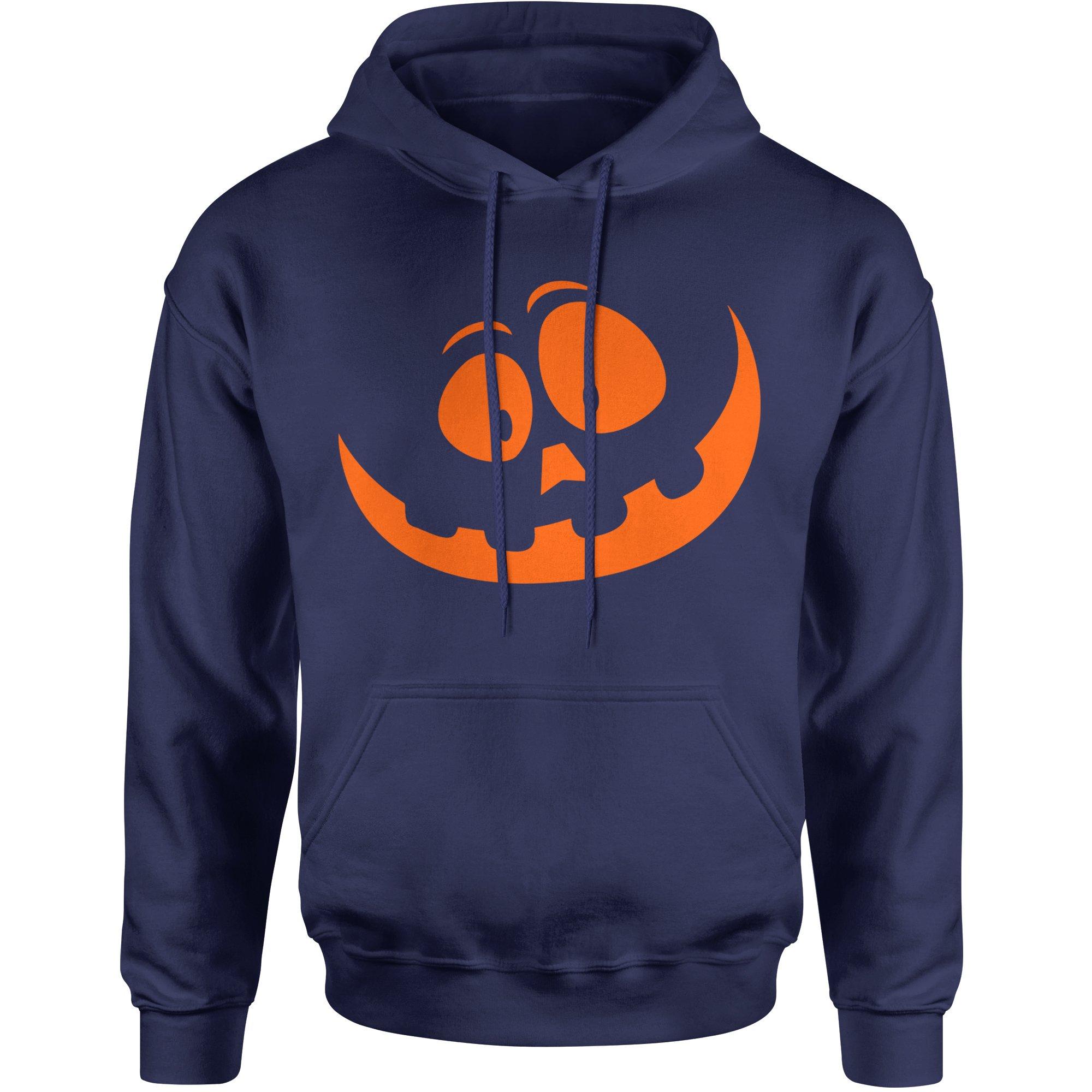 Silly Pumpkin Face Orangeprint Unisex Adult Shirts