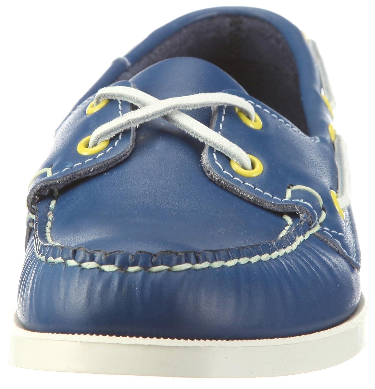 Mens Spinnaker Shoes B73438 Blue/Limeade 10 UK Sebago mOhrUiYo