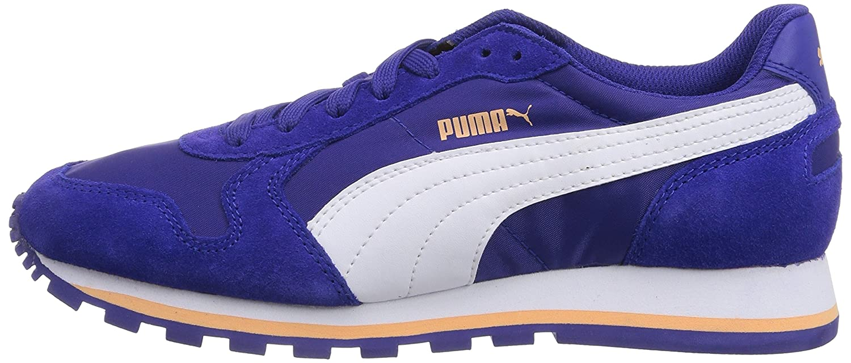 Puma Unisex-Erwachsene St Runner (Clematis Nl Niedrig-Top, grau Blau (Clematis Runner Blau-Weiß-peach Cobler 11) 107ab5