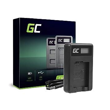 Green Cell® BC-TRW Cargador para Sony NP-FW50 Batería y Alpha A7 A7 II A7R A7R II A7S A7S II A5000 A5100 A6000 A6300 A6500 Cámaras (5W 8.4V 0.6A ...