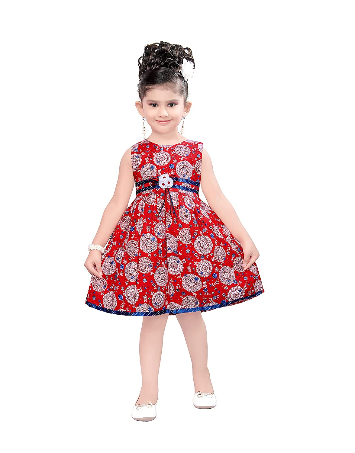 ELSA COLLECTION Cotton Casual Frock
