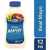 Kraft Mayo Real Mayonnaise, 12 Fluid Ounce Bottle