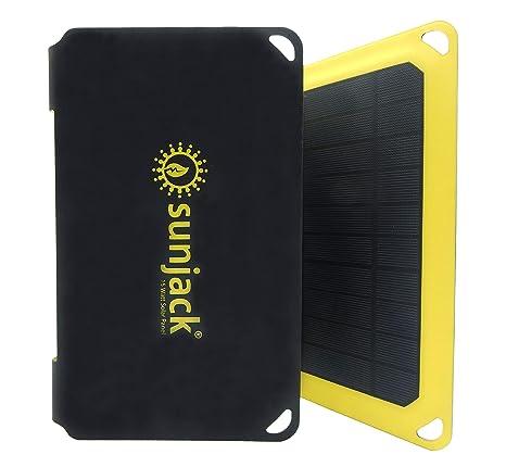 Amazon.com: sunjack – Cargador solar portátil: SunJack