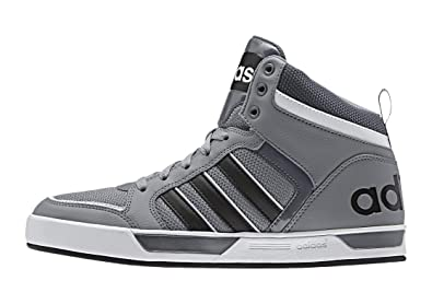 Ftwwht 9tis And Mid Men's Raleigh Adidas GreyCblack Leather 92WDHIYE