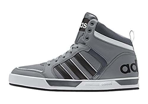 official photos b27a6 a62e3 Adidas Men s Raleigh 9Tis Mid Grey, Cblack and Ftwwht Leather Sneakers - 9  UK