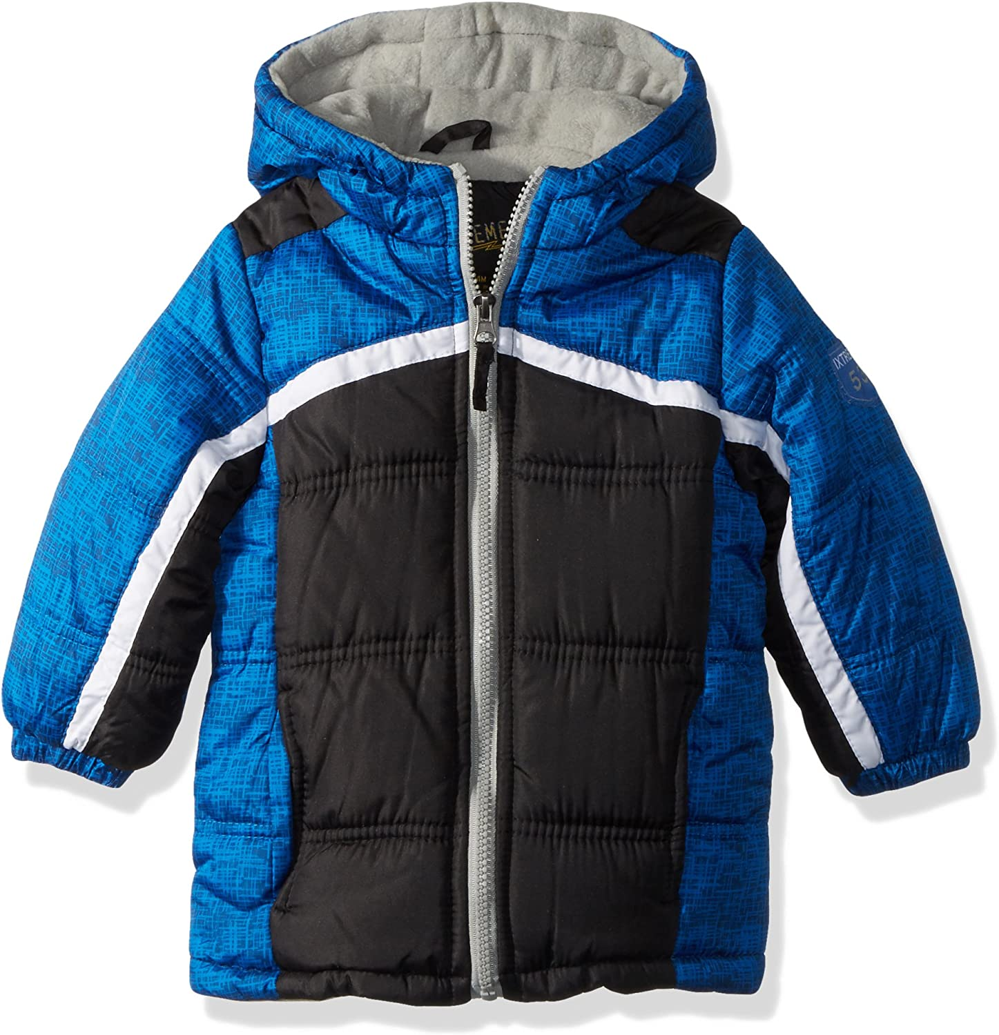 iXtreme Boys Tonal Colorblock Puffer with Hat