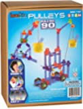 Brackitz Pulleys 90 Piece STEM Simple Machines Building Toy for 7, 8 and 9+ Year Olds   Kids Educational Engineering…