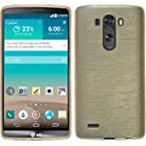 PhoneNatic Custodia in Silicone per LG G3, Oro
