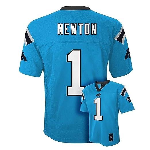 3f020cf4 Cam Newton Carolina Panthers #1 Blue NFL Toddler Home Mid Tier Jersey  (Toddler 2T