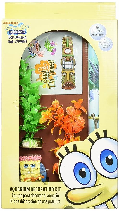 Penn-plax Bob Esponja filtro de decoración accesorios