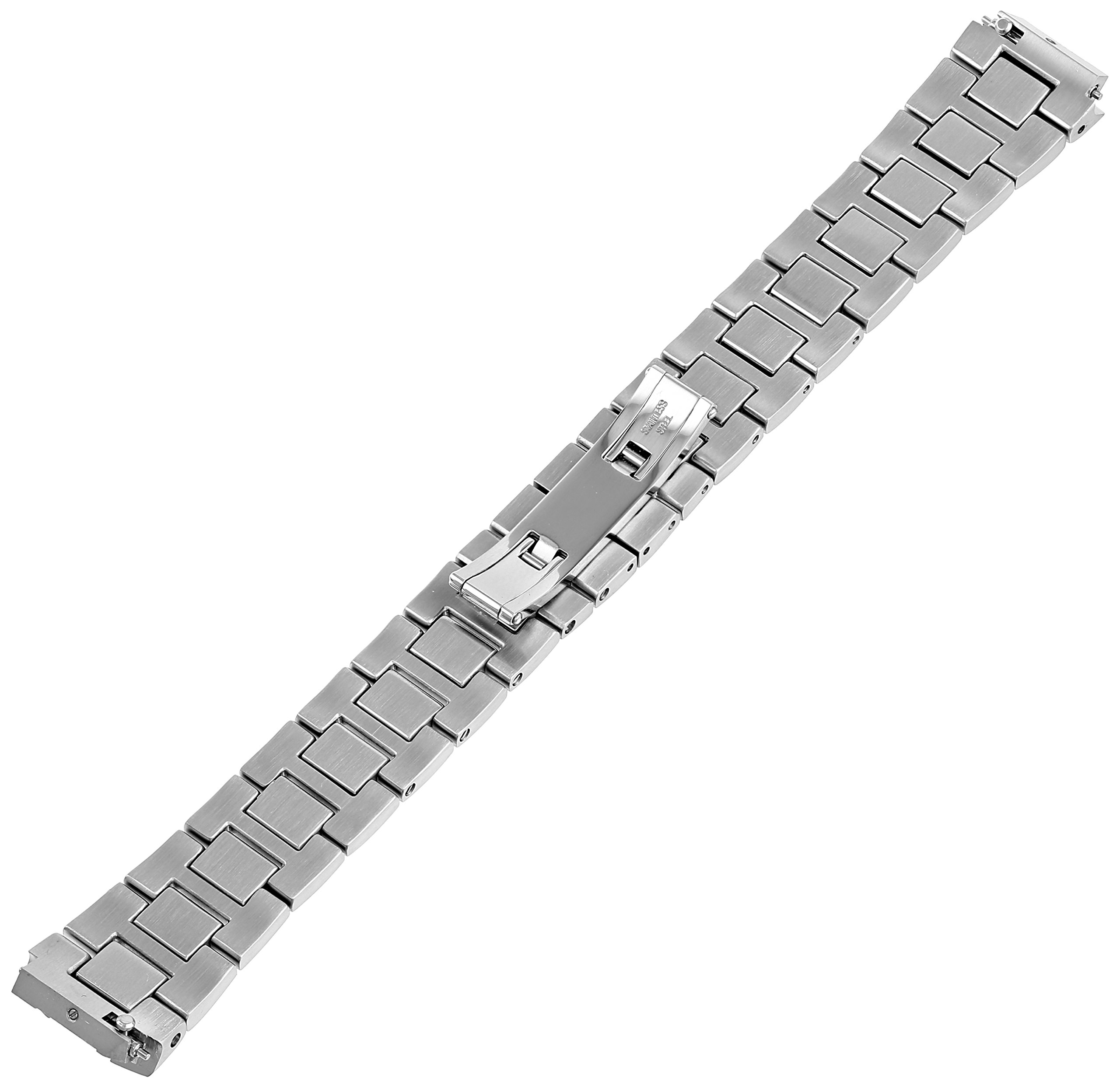 Philip Stein 1-SS3 18mm Stainless Steel Silver Watch Bracelet by Philip Stein (Image #2)