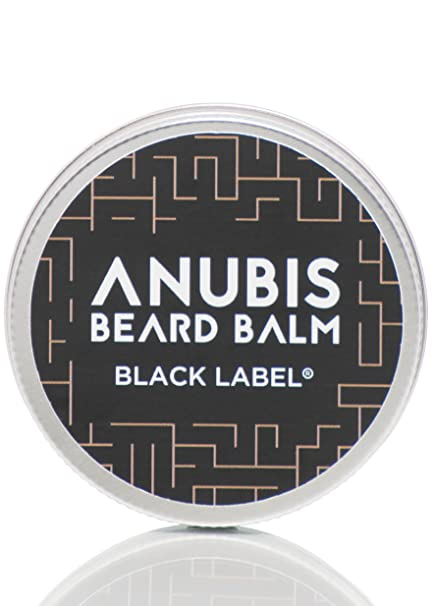 Black Label Beard Balm Anubis 50 ml/barba Balm con arganöl mittelfest