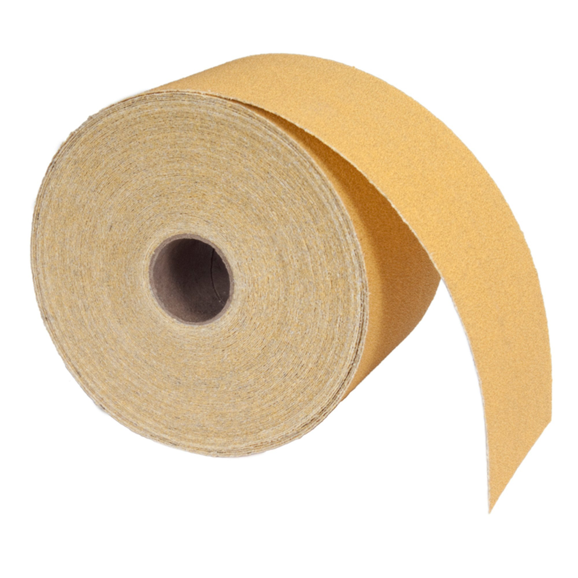 Norton A290 No-Fil Adalox Abrasive Roll, Paper Backing, Pressure Sensitive Adhesive, Aluminum Oxide, Roll 2-3/4'' Width x 20yd Length, Grit 80 (Pack of 1)