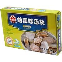 Niutou牛头牌蛤蜊汤块66g(台湾进口)