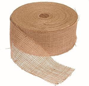 A.M. Leonard Burlap Tree Wrap - 4 Inch x 100 Yards