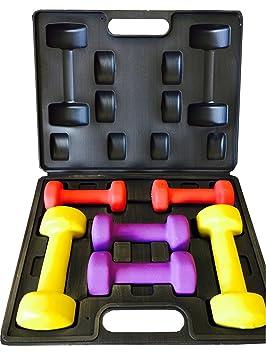 Nuevo ZUMZ 10 kg damas juego de mancuernas tonificación del cuerpo de las mujeres entrenamiento aeróbico